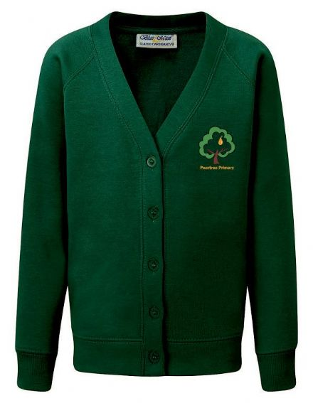 Peartree Primary Bottle New Cardigan